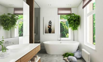Serene-bathroom
