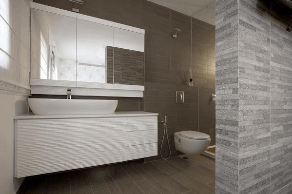 ארון אמבטיה אפוקסי לבן