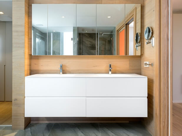 להפליא ארונות אמבטיה | 10 שנות אחריות על ארונות אמבטיה מעוצבים - זדקה RO-91