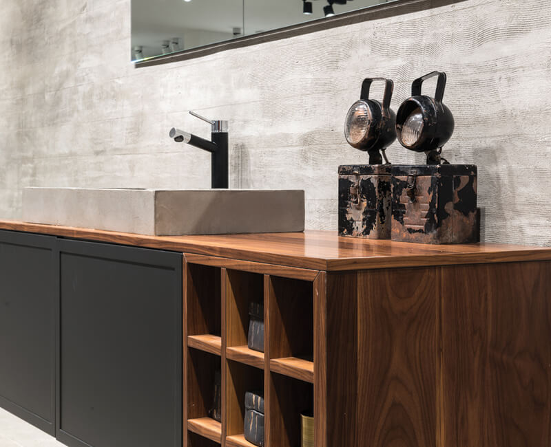 ארון לאמבטיה בעיצוב חדשני