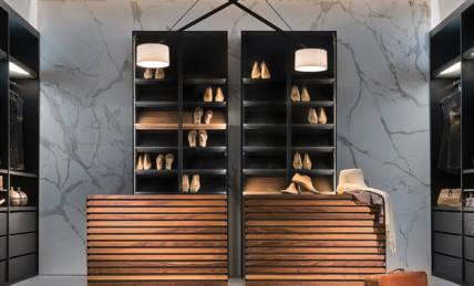 עיצוב ייחודי לחדר ארונות