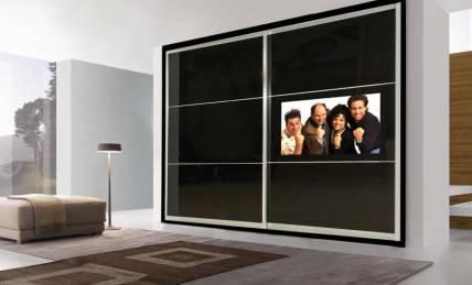 ארון הזזה טלויזיה