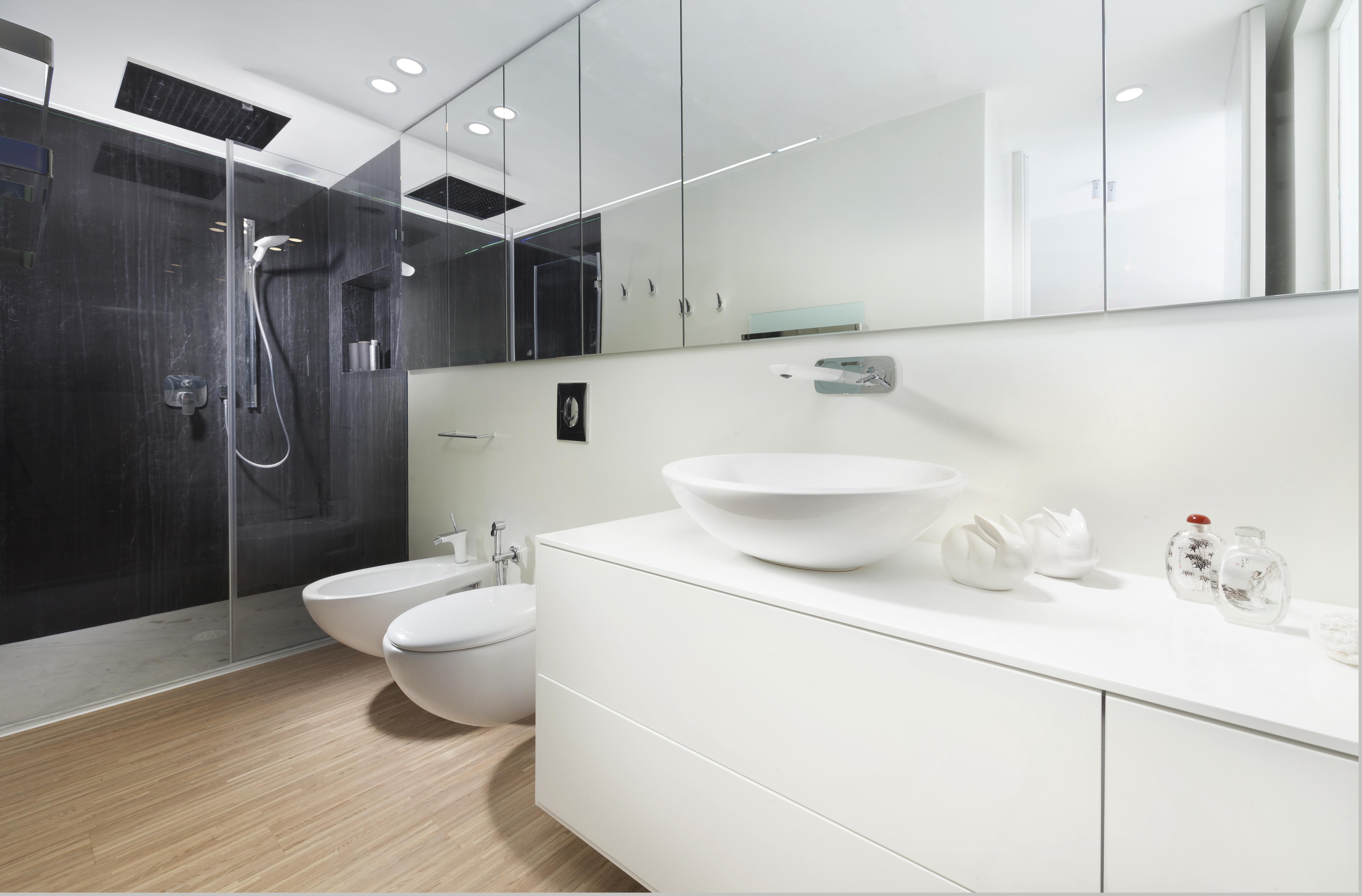 חדר אמבטיה בעיצוב מודרני