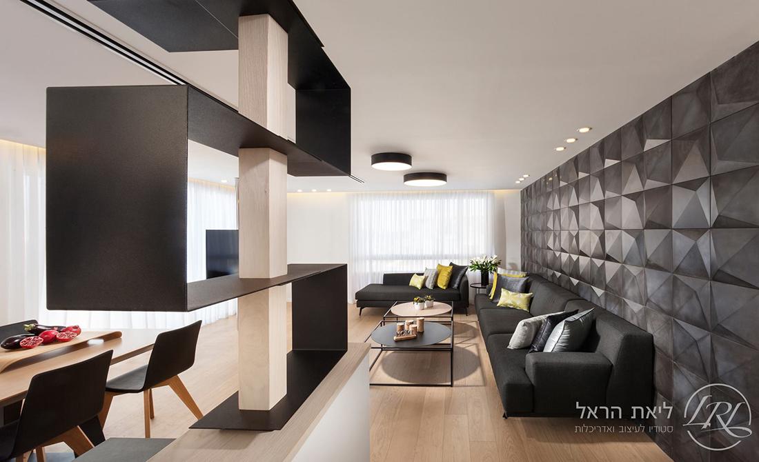 בית מעוצב עם ארונות יפיפיים