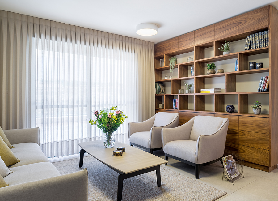 ספריית עץ אגוז אמריקאי