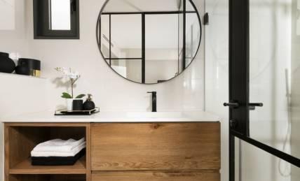 נפלאות ארונות אמבטיה | 10 שנות אחריות על ארונות אמבטיה מעוצבים - זדקה NL-69